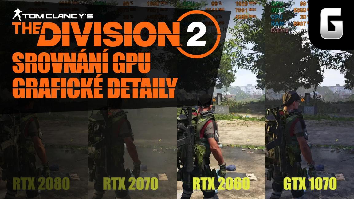 Podívejte se, jak běží a vypadá The Division 2 na PC (video srovnání)