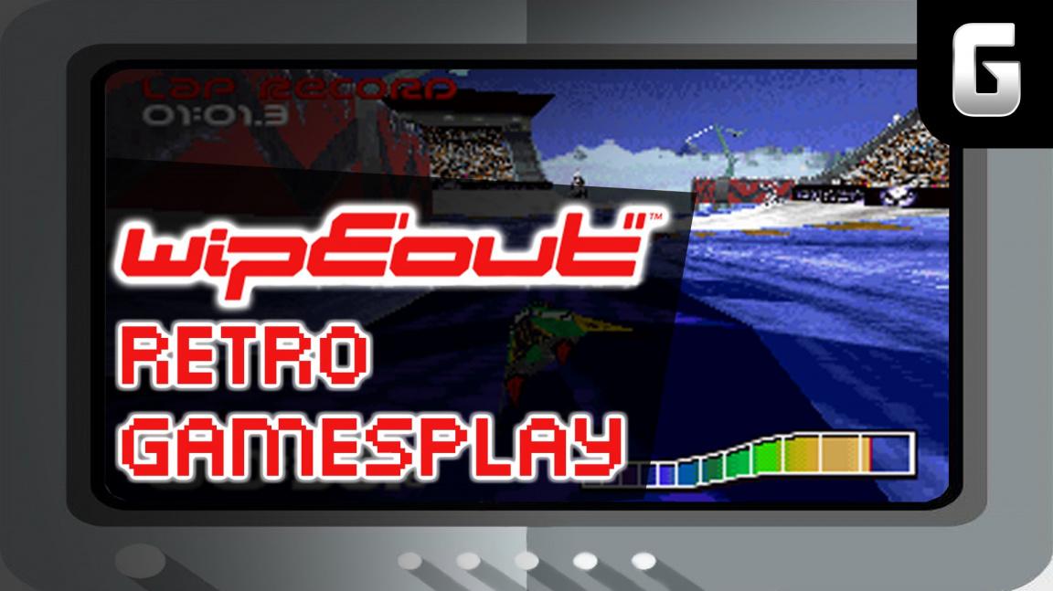 Retro GamesPlay – hrajeme závody Wipeout