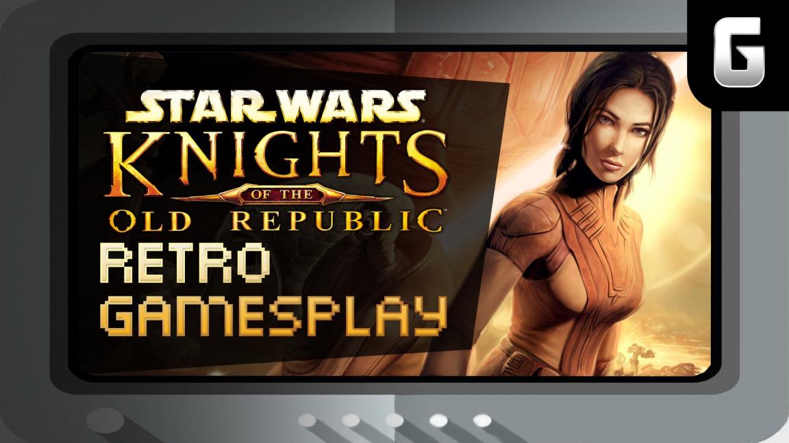 Retro GamesPlay – hrajeme Star Wars: Knights of the Old Republic