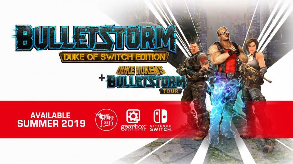 Z náznaků s Bulletstormem a Duke Nukemem je nakonec jen port na Switch