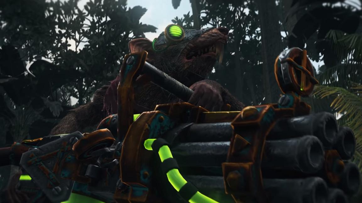 Total War: Warhammer II se třese před skaveny s rotačákem
