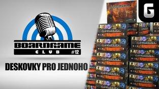 Boardgame Club #12: S Davidem Hanáčkem o deskovkách pro jednoho
