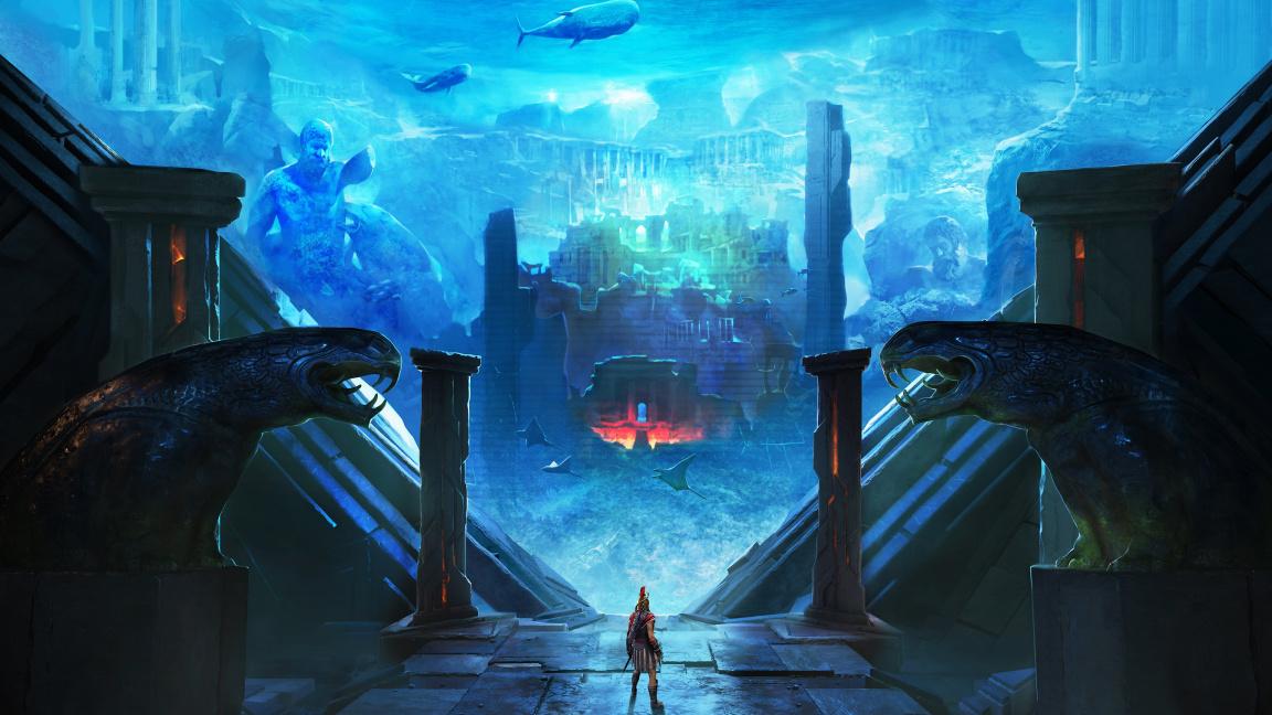 Co se stalo s Atlantidou? Vysvětlení podá přídavek k Assassin's Creed Odyssey