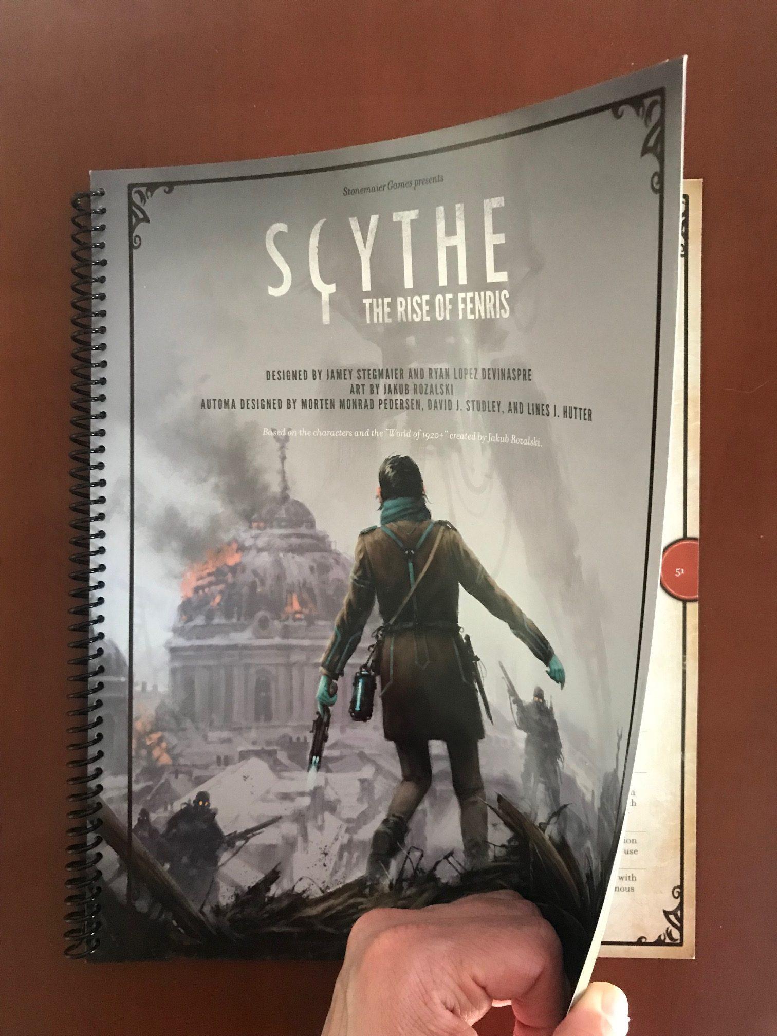 Scythe: Vzestup Fenrise