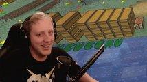 Co způsobil jeden pavouk? Streamer promluvil o konci pětiletého rekordu v Minecraftu