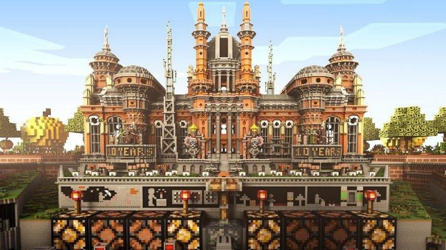 Minecraft slaví 10. narozeniny, navštivte jeho virtuální muzeum