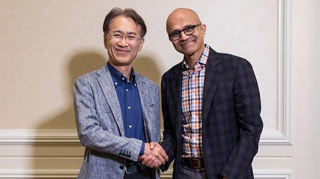 Kenichiro Yoshida a Satya Nadella