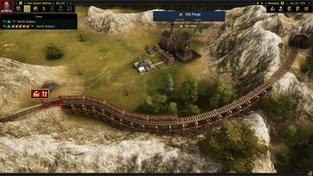 Do stanice Steam právě vjíždí vlakový tycoon Railroad Corporation
