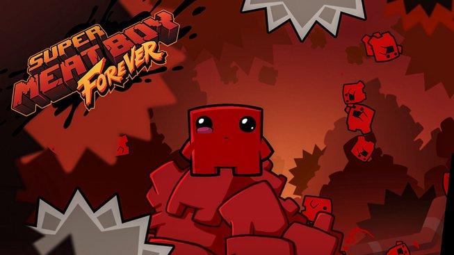 EE Super Meat Boy Forever