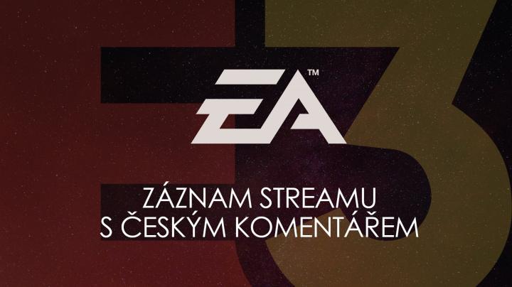 "Sledujte s námi ""E3 tiskovou konferenci"" EA Play"
