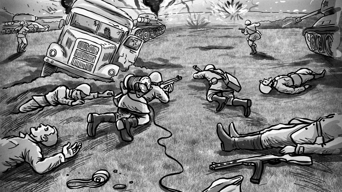 Dojmy z Gamescomu: Svoboda 1945 mnou otřásla
