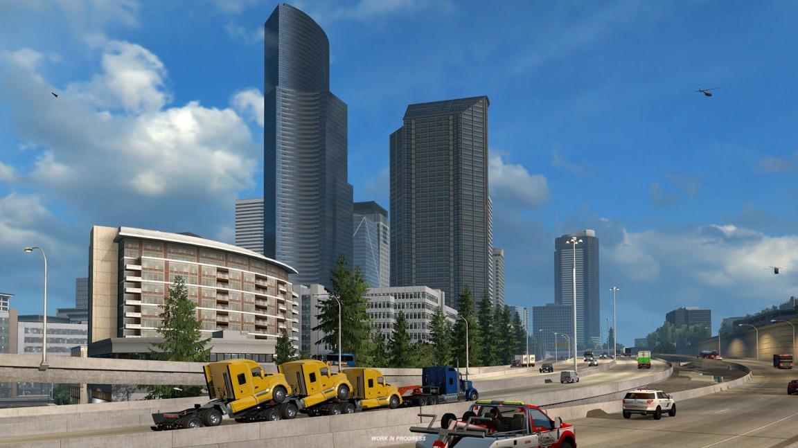 American Truck Simulator se během E3 vydá do Washingtonu