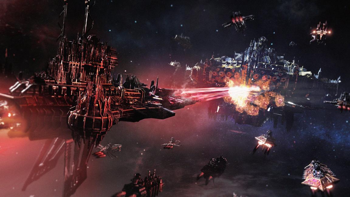 První DLC pro Battlefleet Gothic Armada 2 rozpoutá chaosáckou kampaň