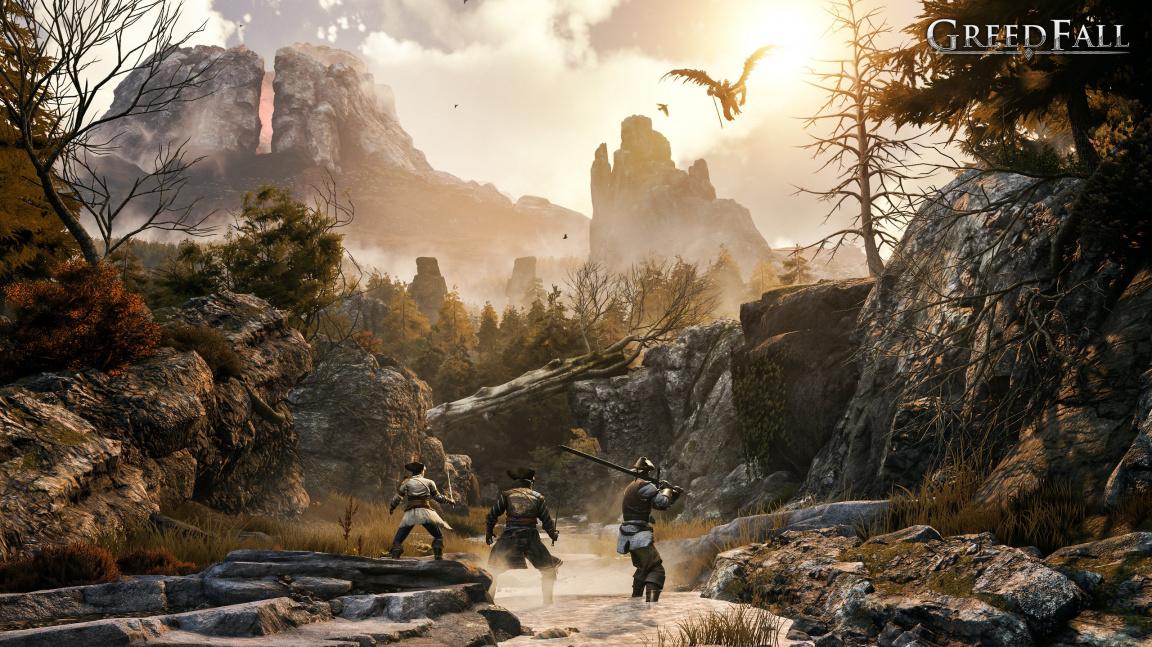 RPG GreedFall zasazené do fantasy 17. století vyjde v září