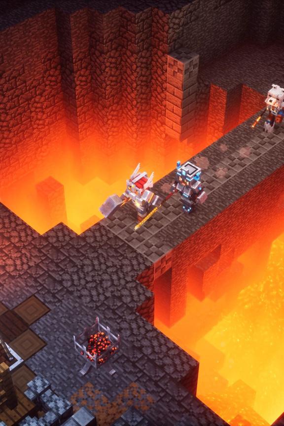 Recenze Minecraft Dungeons