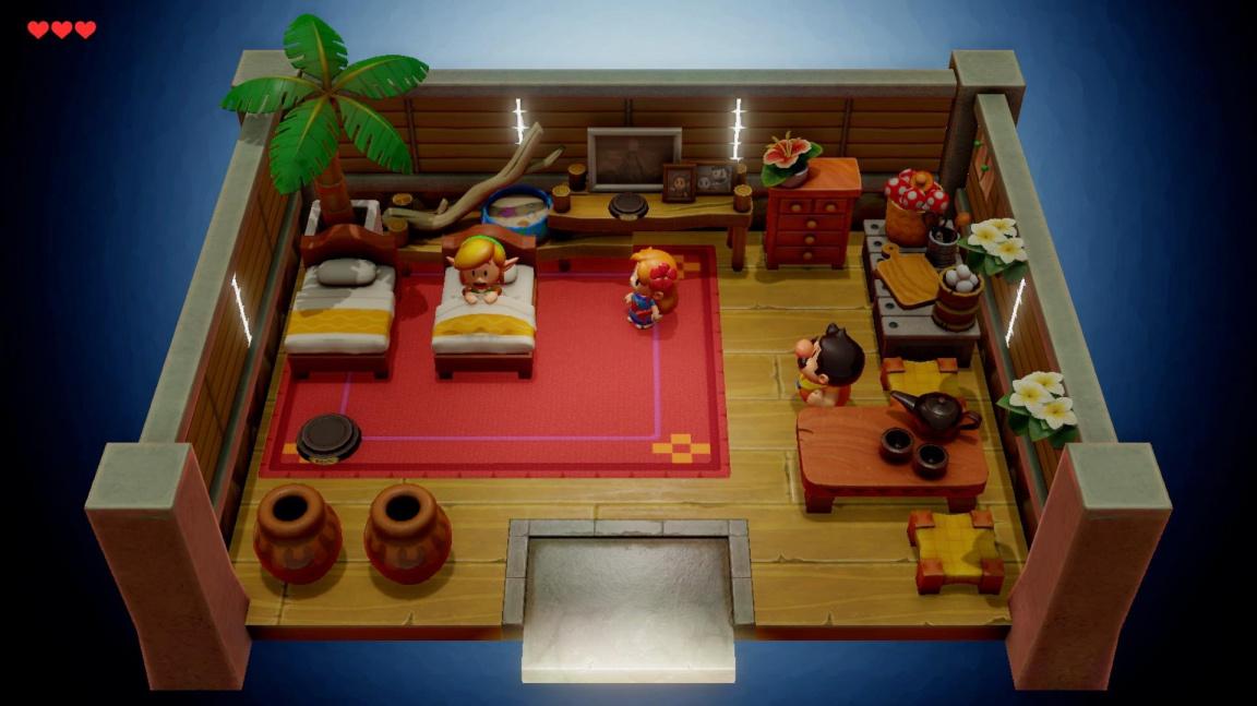 Nádherný remake The Legend of Zelda: Link's Awakening vyjde v září