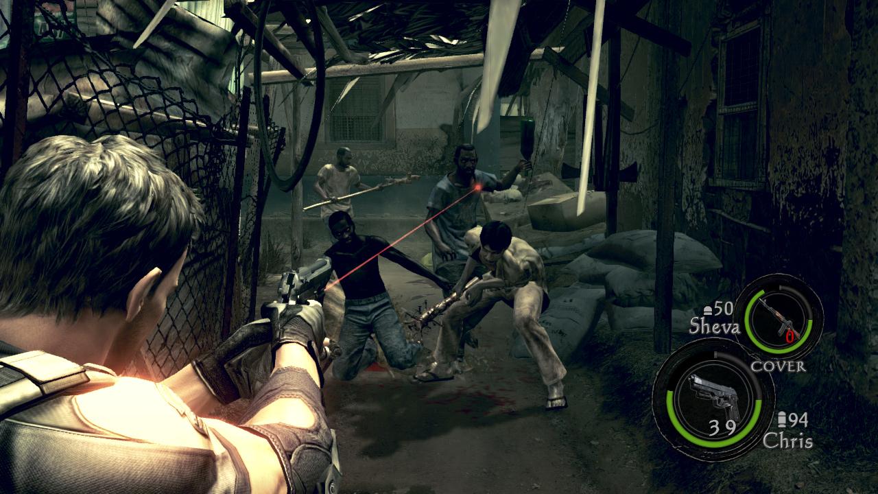 Resident Evil 5 Switch
