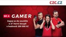 CZC.cz spouští akci Be a Gamer, zapojte se do soutěže o herní doupě za 200 tisíc