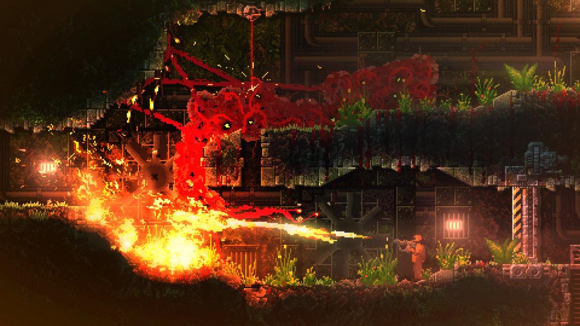 V brutálním Carrionu hrajete za příšeru masakrující vědce