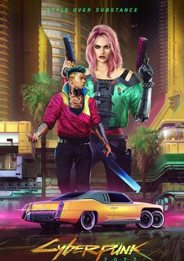 Cyberpunk 2077 plakát