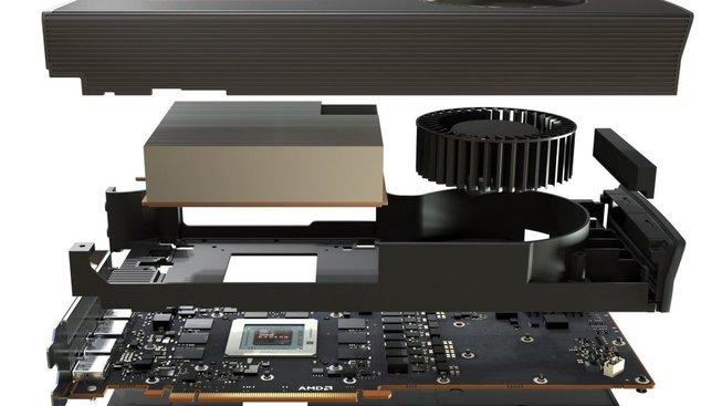 Konstrukce AMD Radeon Navi RX 5700 XT