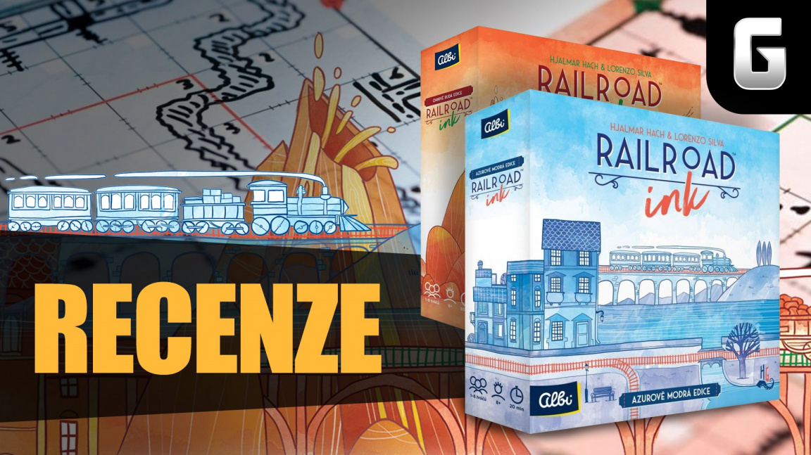 Railroad Ink – videorecenze dvou originálních deskovek
