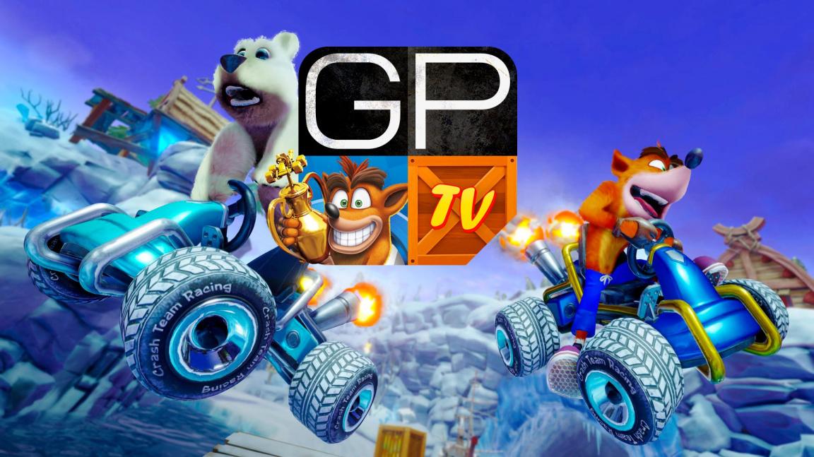Pátý díl pořadu GPTV recenzuje Crash Team Racing Nitro Fueled a vzpomíná na prvního Quaka