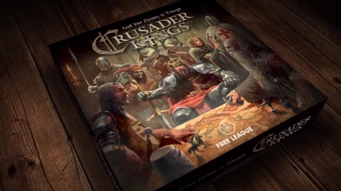 Kůň na křížové výpravě? Jak se hraje deskovka Crusader Kings: The Boardgame