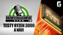Hardware Club #36: Výkon procesorů Ryzen 3000 a GPU Navi