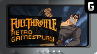 Retro GamesPlay - Full Throttle + Extra Round - Escape from the Planet of the Robot Monsters