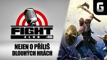 Sledujte Fight Club #435 o příliš dlouhých hrách, novinkách i vykopávkách
