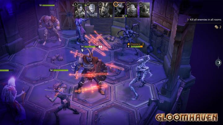 Early access digitálního Gloomhavenu je určený převážně fanouškům předlohy