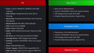Origin PC Big O tech specs
