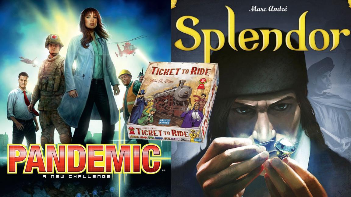 Porovnání videoherních verzí deskovek s originálem – Ticket to Ride, Pandemic, Splendor