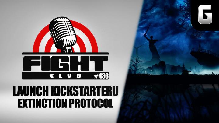 Sledujte Fight Club #436, ve kterém odstartujeme Kickstarter české hry Extinction Protocol