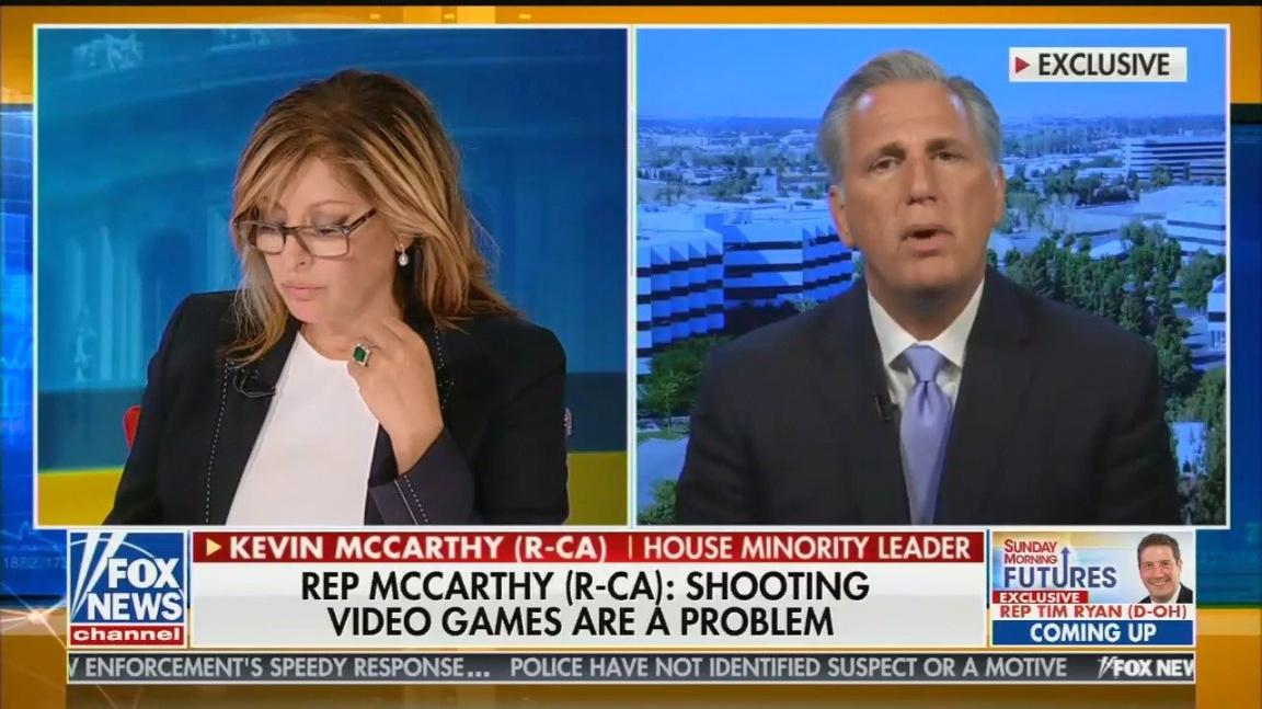 Podle amerických politiků za střelbu v Texasu a Ohiu částečně můžou počítačové hry