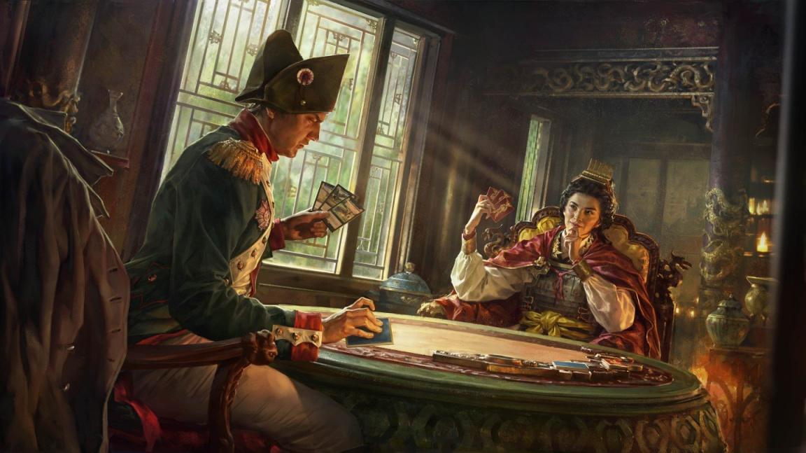 Můj Wellington přebíjí tvého Scipia! Total War se dočká vlastní sběratelské karetní hry, ale zatím jen v Číně
