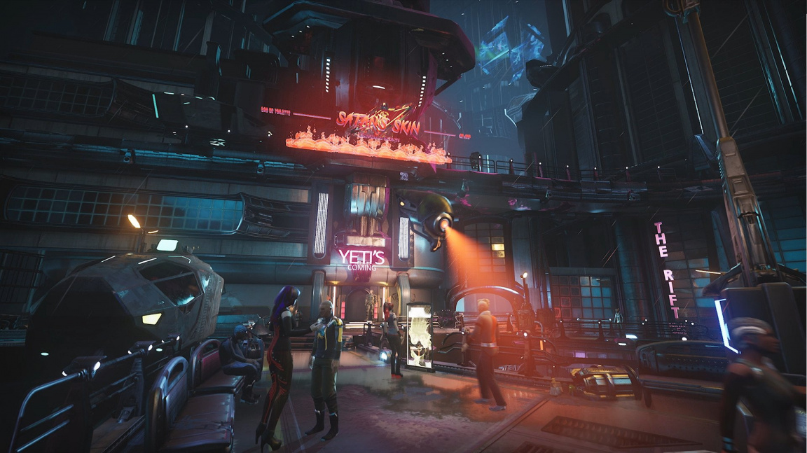 V kyberpunkovém detektivním RPG Gamedec řešíte závislost hráčů na farmaření a loot boxech