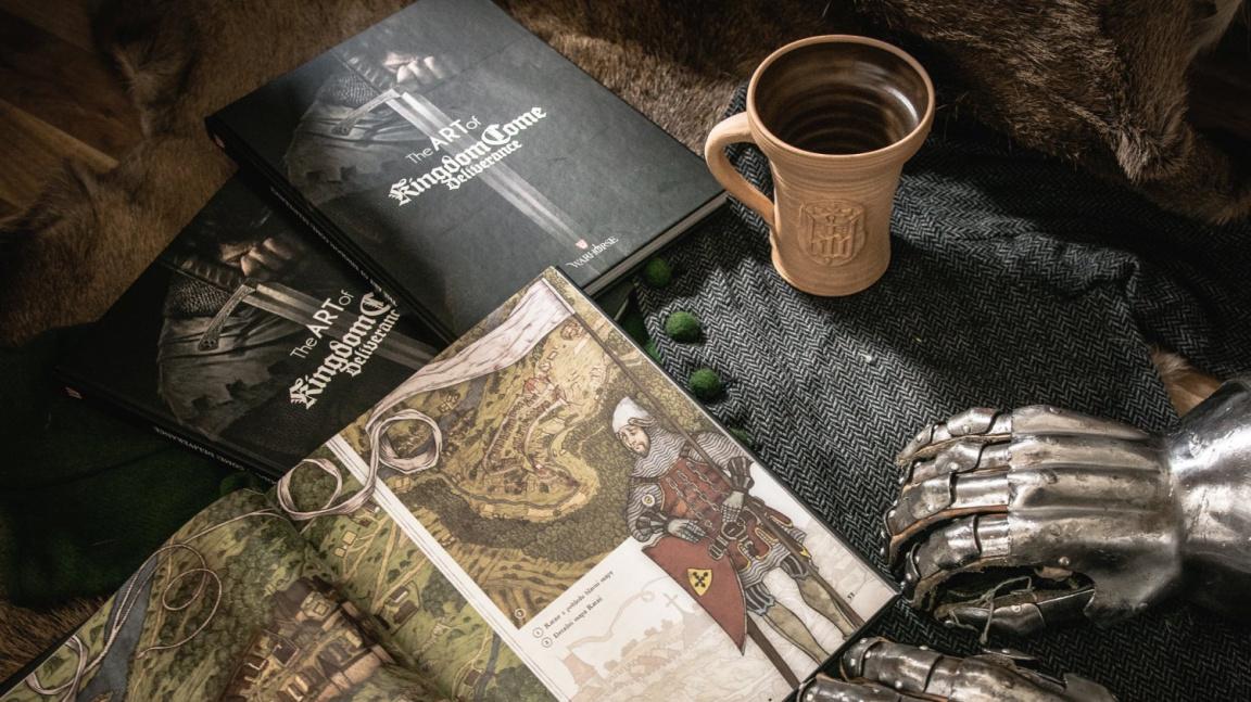 Artbook The Art of Kingdom Come: Deliverance je dobrý dárek pro fanoušky hry