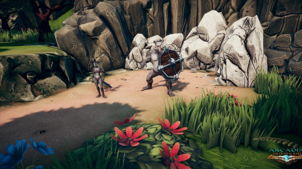 Ve strategickém RPG Arcadia: The Crystal Wars můžete mít až 20 společníků