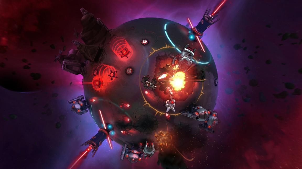 V Battle Planet – Judgement Day jakožto trestanec ničíte celé planety