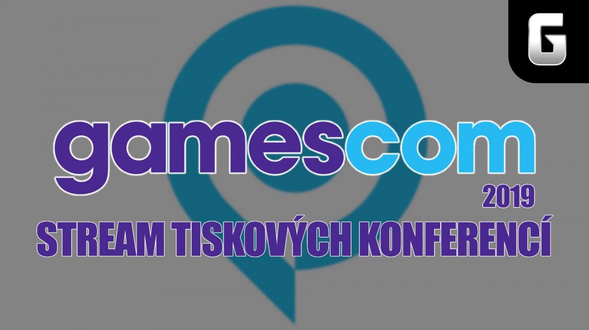 Sledujte stream tiskových konferencí Gamescom 2019