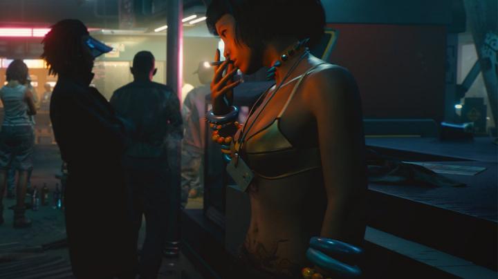 Jeden z gangů v Cyberpunku 2077 chrání prostitutky a prostituty