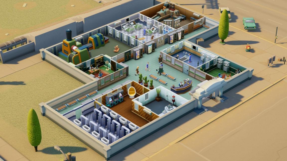 V novém DLC do Two Point Hospital se střetnete s mimozemšťany
