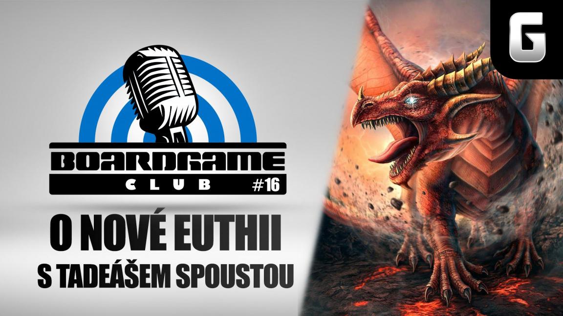 BoardGame Club #16: S Tadeášem Spoustou o Euthii + mega soutěž