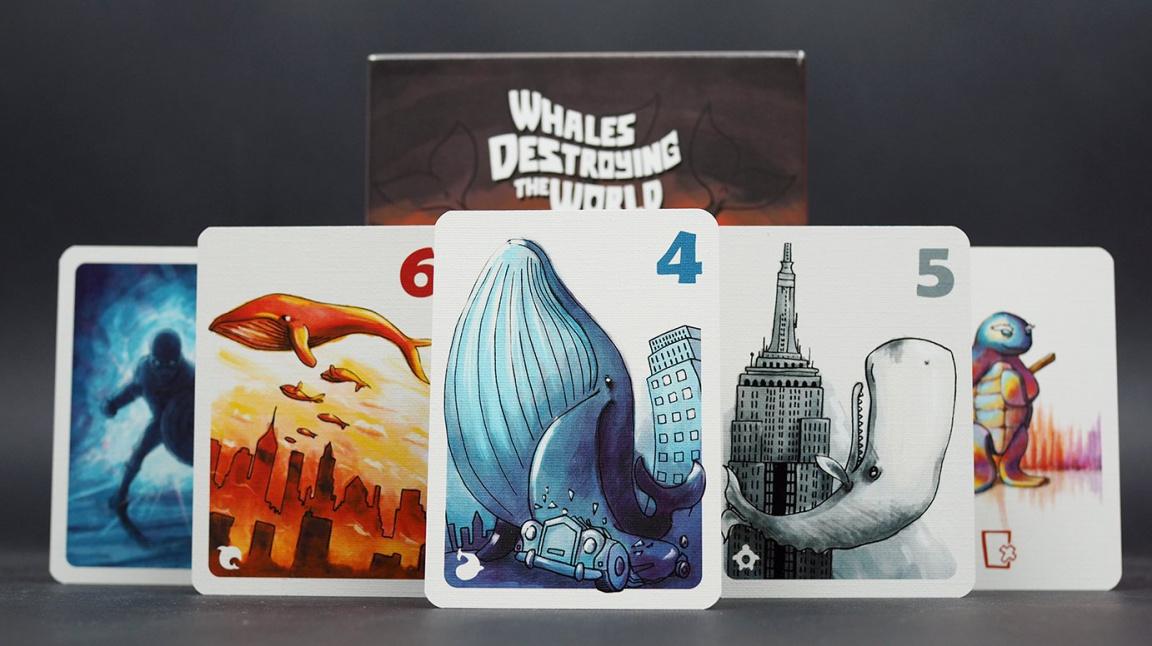 Velryby ničí svět, ale je to nutně špatně? Zasoutěžte si o českou karetní hru a zjistěte to sami