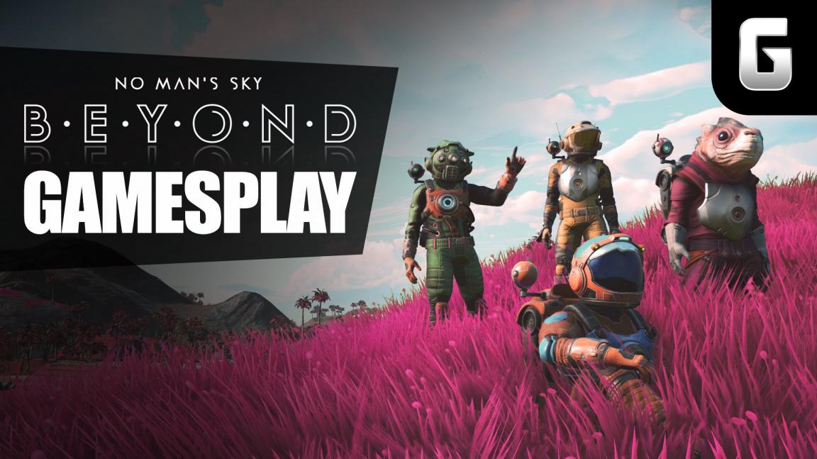 GamesPlay – hrajeme No Man's Sky: Beyond s panem Dortem