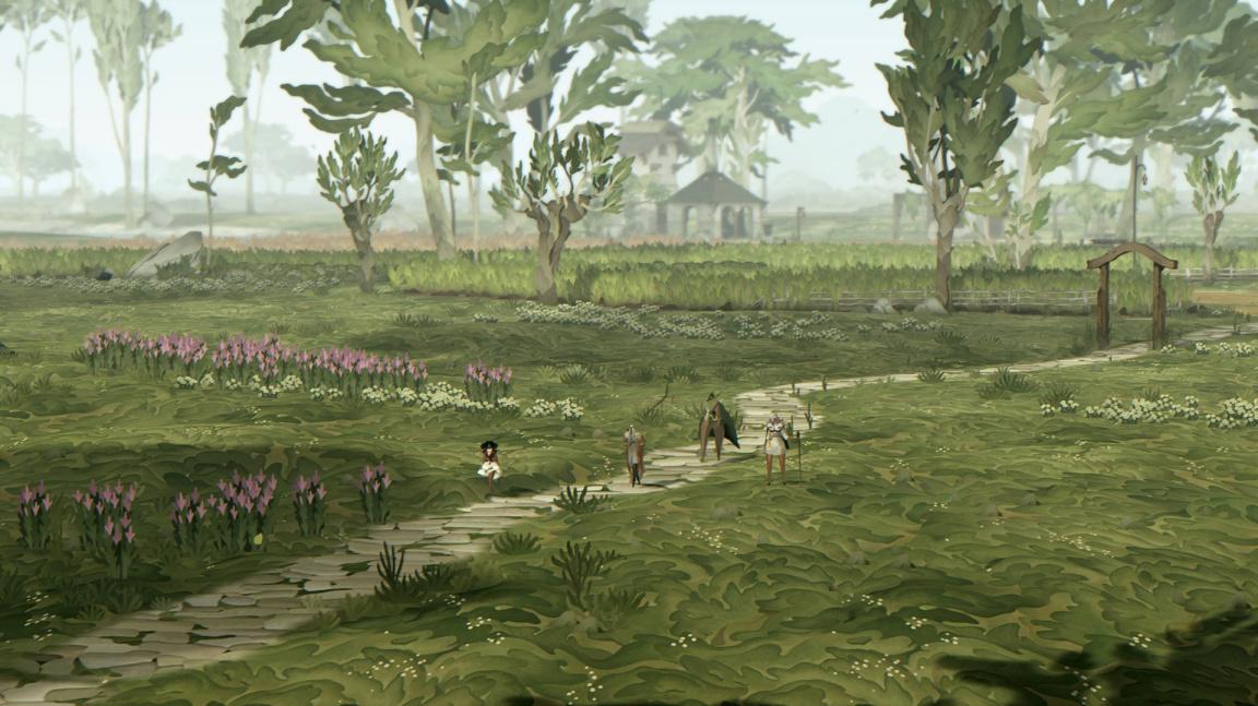 Dorazily první záběry z krásného a trochu zvláštního RPG Book of Travels