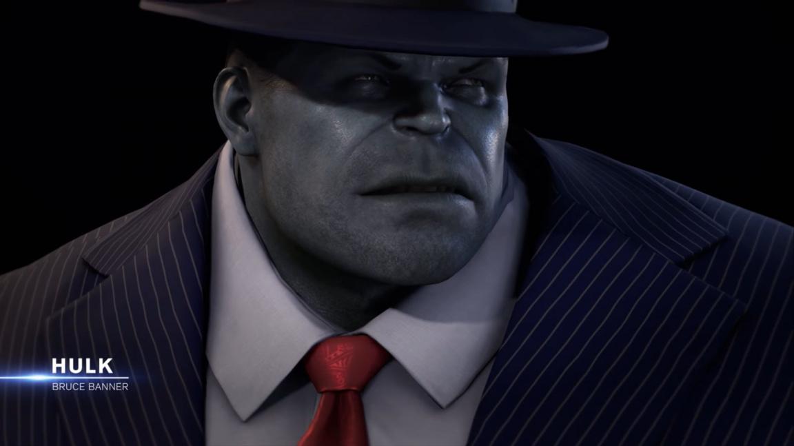 Marvel's Avengers představují hrdiny: narcise Iron Mana a kravaťáka Hulka