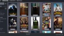 Nová knihovna Steamu